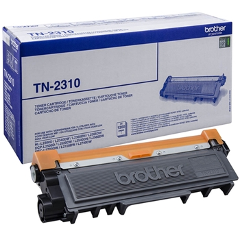BROTHER TN-2310 toner black standard capacity 1.200 pages 1-pack