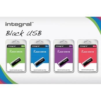 Integral BLACK unità flash USB 8 GB USB tipo A 2 Nero