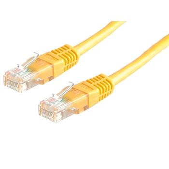 Value 21.99.1522 cavo di rete 0,5 m Cat6 U/FTP (STP) Giallo