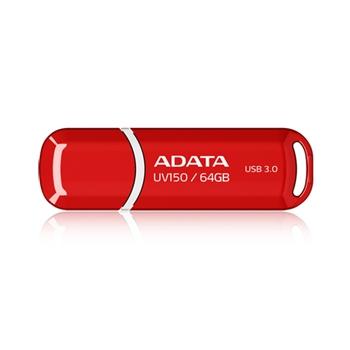 ADATA AUV150-64G-RRD Flashdrive DashDrive UV150 64 GB USB3 90/20MBs Red