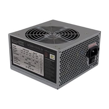LC-Power LC500-12 V2.31 alimentatore per computer 350 W 20+4 pin ATX ATX Grigio
