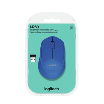 Logitech M280 mouse RF Wireless Ottico 1000 DPI Ambidestro