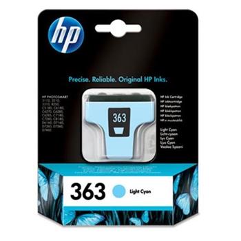 HP INC HP 363 LIGHT CYAN INK CARTRIDGE