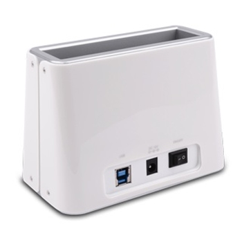 ATLANTIS LAND PROFESSIONAL DOCKING STATION 2.5IN AND 3.5IN USB3.0 WHITE .