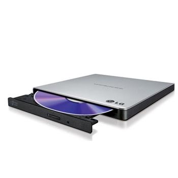 LG GP57ES40 lettore di disco ottico Nero, Argento DVD±RW