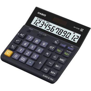 Casio DH-12TER calcolatrice Scrivania Calcolatrice di base Nero