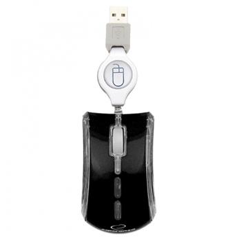 Esperanza EM109K mouse USB Ottico 800 DPI Ambidestro