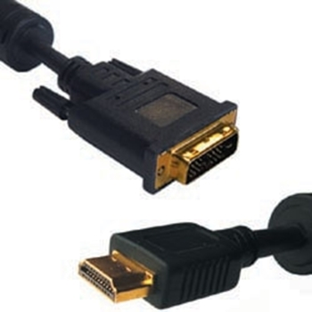 NILOX CAVO GOLD 2MT HDMI-DVI PLACCATO