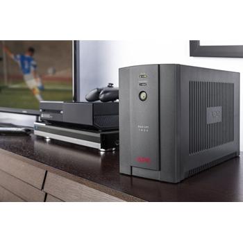 APC Back-UPS gruppo di continuità (UPS) A linea interattiva 1400 VA 700 W 6 presa(e) AC