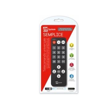 TELE System 58040112 telecomando TV Pulsanti