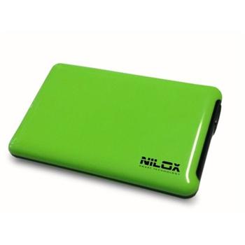 NILOX BOX USB 3.0 2.5P VERDE MELA