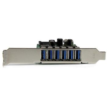 STARTECH SCHEDA ESPANSIONE PCIE USB 3.0 A 7 PORTE-ALIMENTAZIONE SATA