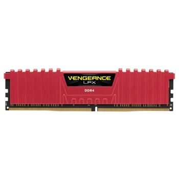CORSAIR Vengeance LPX DDR4 8GB 2400MHz CL14 1.2V XMP 2.0 Red
