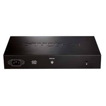 D-Link DGS-1016D/E switch di rete Non gestito Nero, Metallico