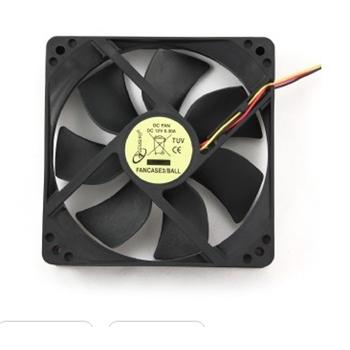 Gembird FANCASE3/BALL ventola per PC Computer case Refrigeratore 12 cm Nero