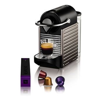 Krups Pixie XN3005 Macchina per caffè con capsule 0.7L Titanio
