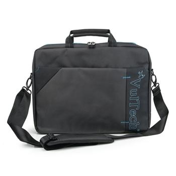 """Vultech NB-15.60 borsa per notebook 39,6 cm (15.6"""") Valigetta ventiquattrore Nero, Blu"""