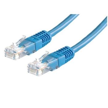 Nilox 5m Cat6 UTP cavo di rete U/UTP (UTP) Blu