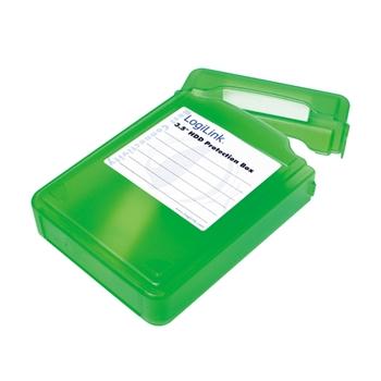 LogiLink UA0133G custodia per unità di archiviazione Cover Verde