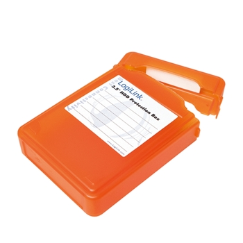 LogiLink UA0133O custodia per unità di archiviazione Cover Arancione