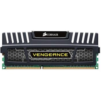 CORSAIR DDR3 1600MHz 8GB DIMM Unbuffered 10-10-10-27 Vengeance Black Heatspreader Supports Core i7 1.5V Black heatspreader