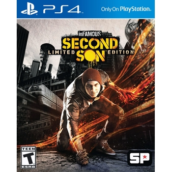 Sony inFAMOUS Second Son, Playstation 4 videogioco Basic Inglese, ITA
