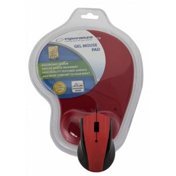 Esperanza EM125R mouse USB Ottico 1200 DPI Mano destra