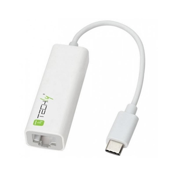 Techly Cavo Convertitore Adattatore da USB-C M a Gigabit Ethernet (IADAP USB31-ETGIGA)