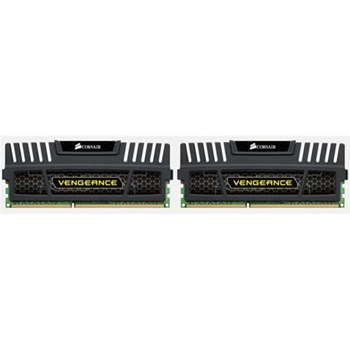CORSAIR DDR3 1600MHz 16GB Kit 2x8GB 240 Dimm Unbuffered 9-9-9-24 Vengeance Heatspreader Dual Channel 1.5V