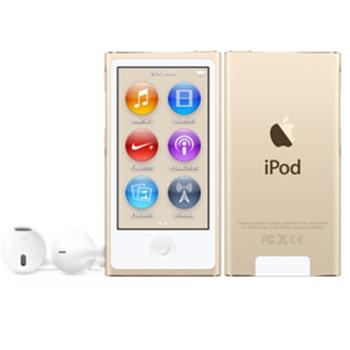Apple iPod nano 16GB MP4 16GB Oro