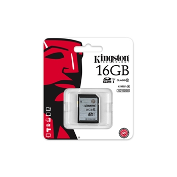 Kingston Technology Class 10 UHS-I SDHC 16GB 16GB SDHC UHS Class 10 memoria flash