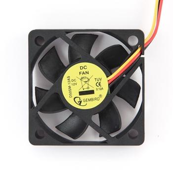 GEMBIRD D50SM-12AS Gembird 50x50x10mm DC fan, 12V, 250mm wire