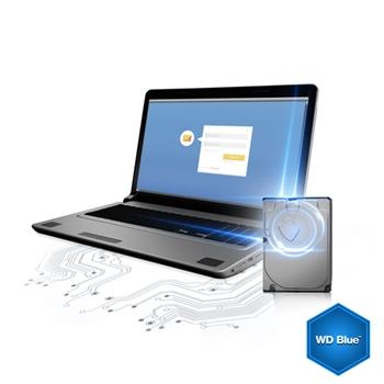 """WD HDD INT 3.5"""" 1TB SATA 6GB 64MB 5400RPM BLUE WD10EZRZ"""