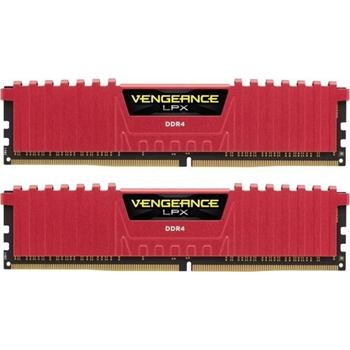 CORSAIR Vengeance LPX DDR4 16GB 2x8GB 2400MHz CL14 1.2V XMP 2.0 Red