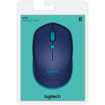 Logitech M535 mouse Bluetooth Ottico 1000 DPI Ambidestro