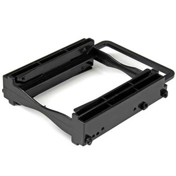 """StarTech.com Staffa di montaggio Tool-Less per doppio disco duro SSD/HDD da 2,5"""" per alloggiamento da 3,5"""""""
