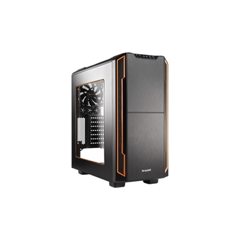 be quiet! Silent Base 600 Midi-Tower Arancione, Nero