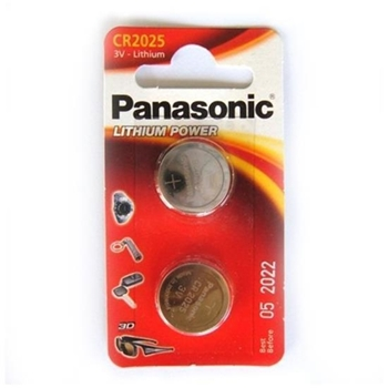 PANASONIC MICROPILA AL LITIO CR2025/BL2