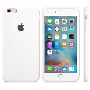 Apple Custodia in silicone per iPhone 6s Plus - Bianco