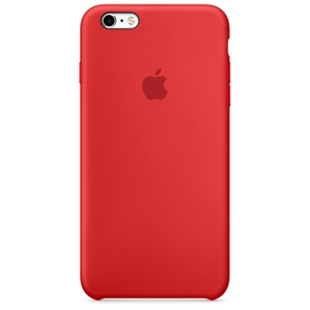 APPLE IPHONE 6S PLUS SILIC CASE RED
