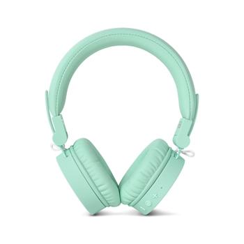 Fresh 'n Rebel Caps Wireless Headphones - Cuffie Bluetooth on-ear, verde acqua