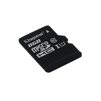 Kingston Technology microSDHC Class 10 UHS-I Card 8GB 8GB MicroSDHC UHS-I memoria flash