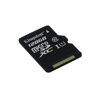 Kingston Technology microSDXC Class 10 UHS-I Card 128GB 128GB MicroSDXC UHS-I Class 10 memoria flash