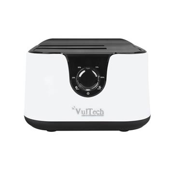 Vultech DK-USB3 USB 3.2 Gen 1 (3.1 Gen 1) Type-B Nero, Bianco