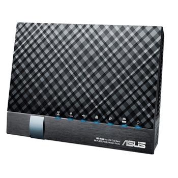 WLAN router/modem 1200Mb Asus DSL-AC56U