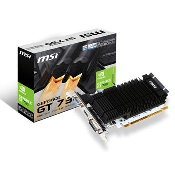 MSI GeForce GT 730, 2GB DDR3 (64 Bit), HDMI, DVI, D-Sub