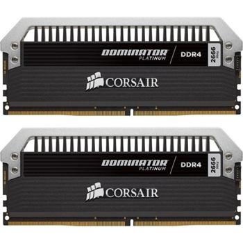 CORSAIR 16GB RAMKit 2x8GB DDR4 3200MHz 2x288 Dimm Unbuffered 16-18-18-36 Dominator Platinum 1,35V XMP2.0
