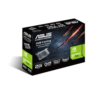 ASUS GeForce GT 730, 2GB GDDR5 (64 Bit), HDMI, DVI