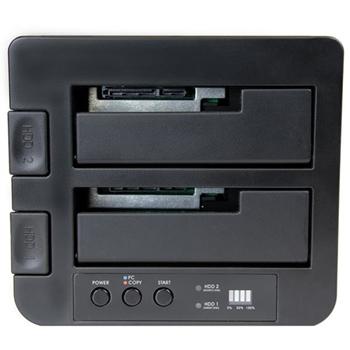 "StarTech.com Dock Duplicatore autonomo USB 3.1 (10Gbps) per SATA SSD/HDD da 2,5"" & 3,5"" - Duplicatore fast-speed 28GB/min"