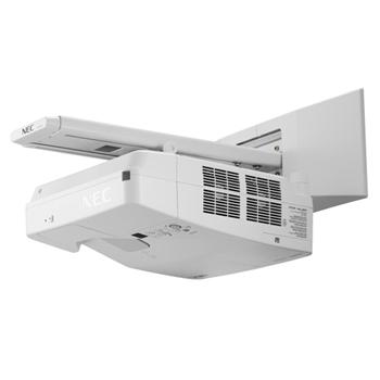 NEC UM301X videoproiettore 3000 ANSI lumen 3LCD XGA (1024x768) Proiettore montato a muro Bianco